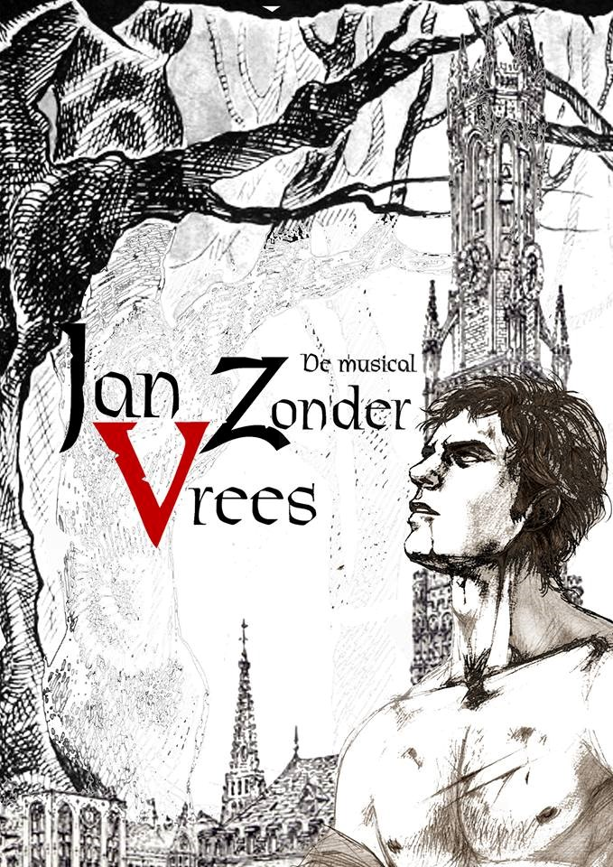 Poster Jan Zonder Vrees de musical